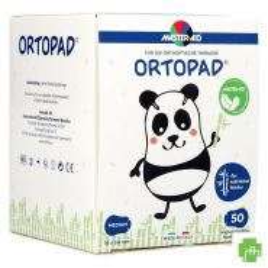 Ortopad Wit Medium Oogkompres 50 70022