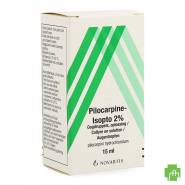 Pilocarpine-isopto 2 % Collyre 15ml
