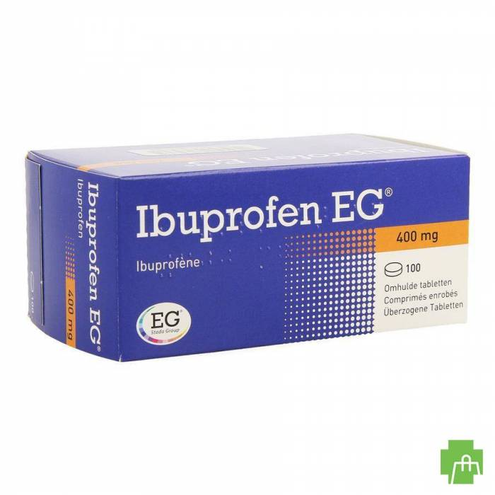 Ibuprofen Eg 400mg Filmomh Tabl 100 X 400mg