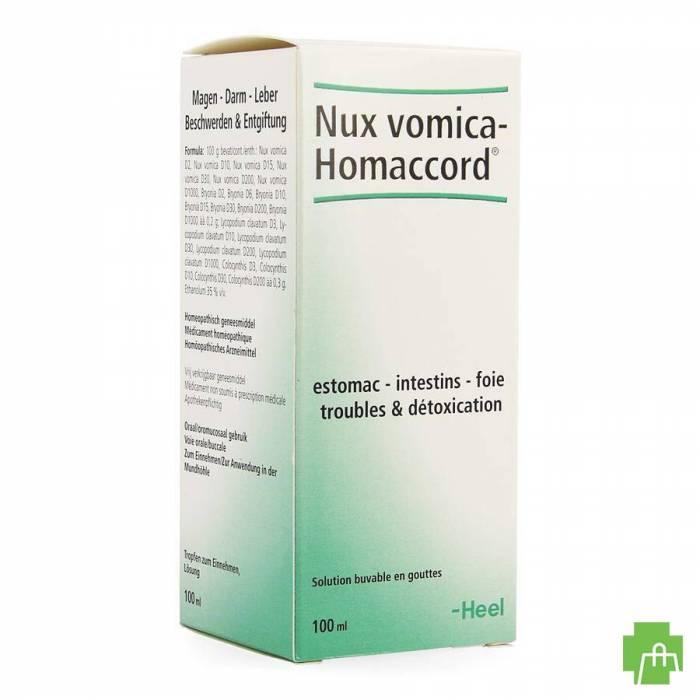 Nux Vomica-homaccord Gutt 100ml Heel