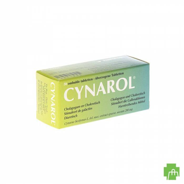 Cynarol Drag. 50 X 200mg