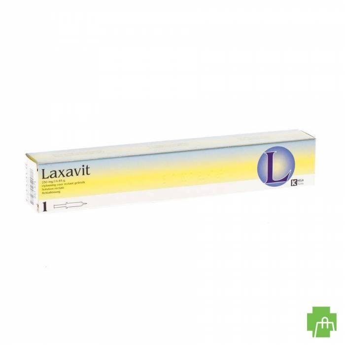 Laxavit Micro Enema Inj 1x12ml