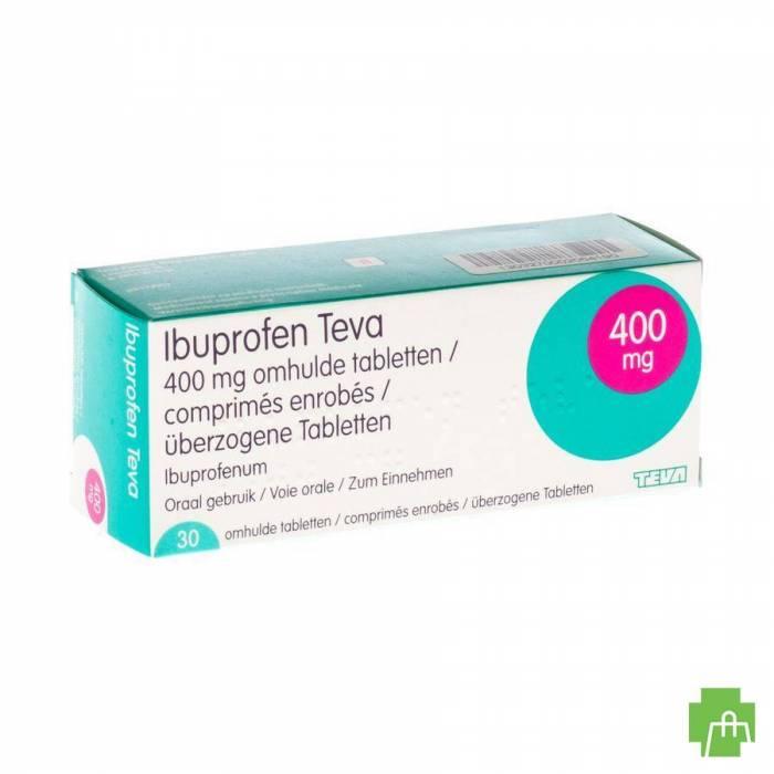 Ibuprofen Teva Drag 30 X 400mg