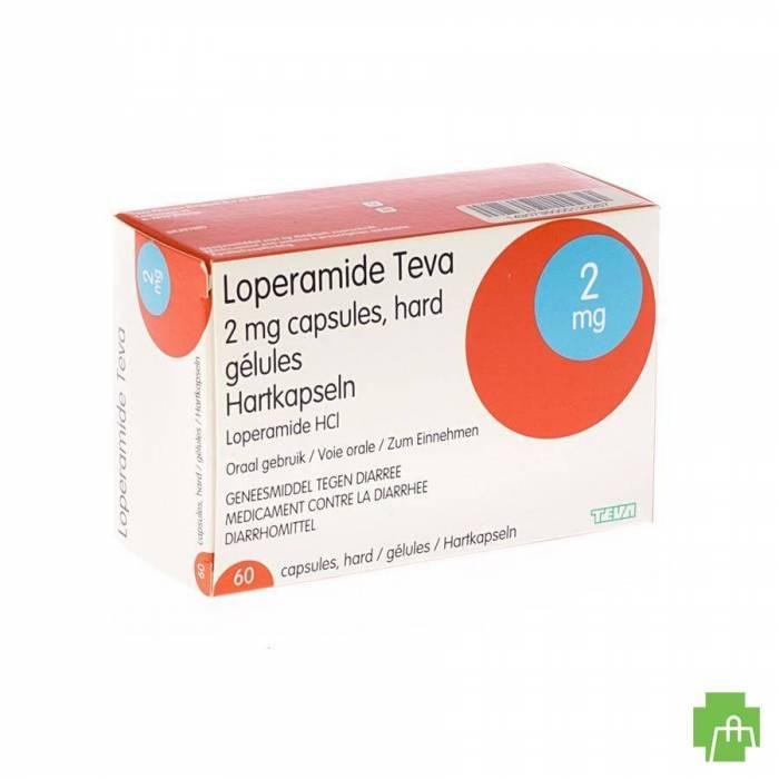 Loperamide Teva Caps 60 X 2mg