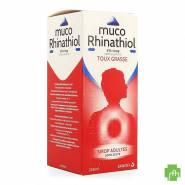 Muco Rhinathiol 5% Sir Ad Z/suiker 250ml