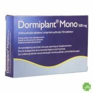 Dormiplant Mono 500 mg 20 tabletten