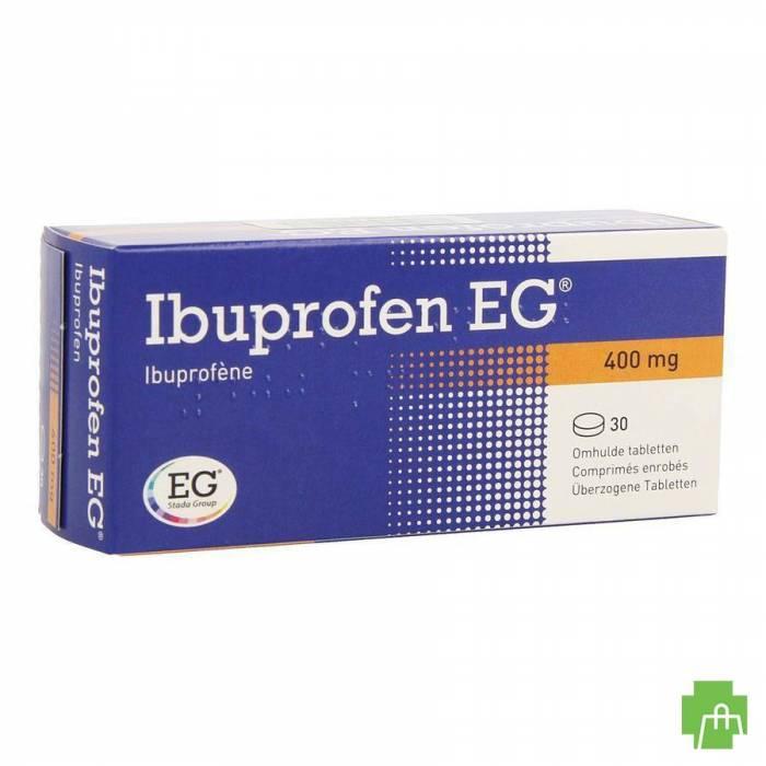 Ibuprofen Eg 400mg Filmomh Tabl 30 X 400mg