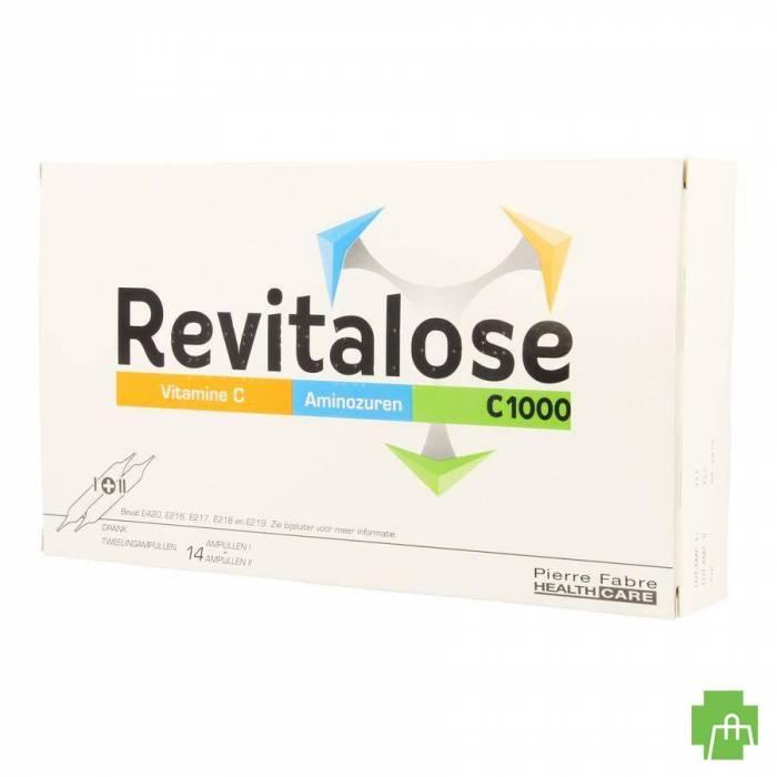 Revitalose C 1000 Amp Sol Orale 14 X (i+ii)